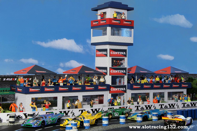 Track My Car >> Slotcars 1:32 Slotracing Carrera Racecourse / My racing track - Racetrack Buildings